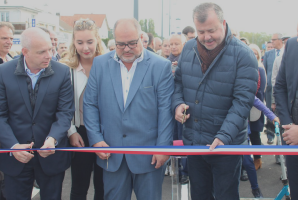 inauguration passage Bois d'Arcy